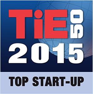 Tie50 Top Startup 2015 Award